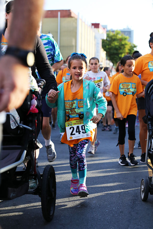 All ages are welcome to join the run, help us reach our goal!