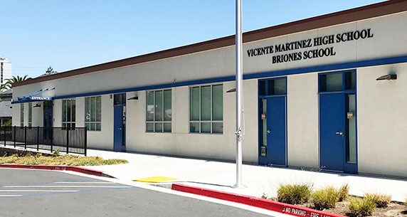 Vicente Martinez High School & Briones School
